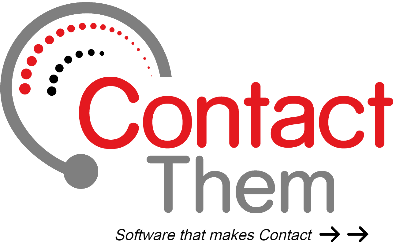 Contact Them logo.  Software that makes Contact.